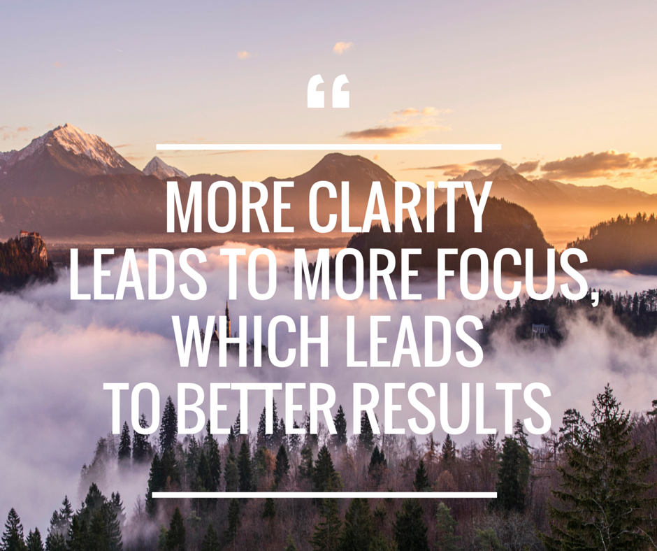 Get More Clarity