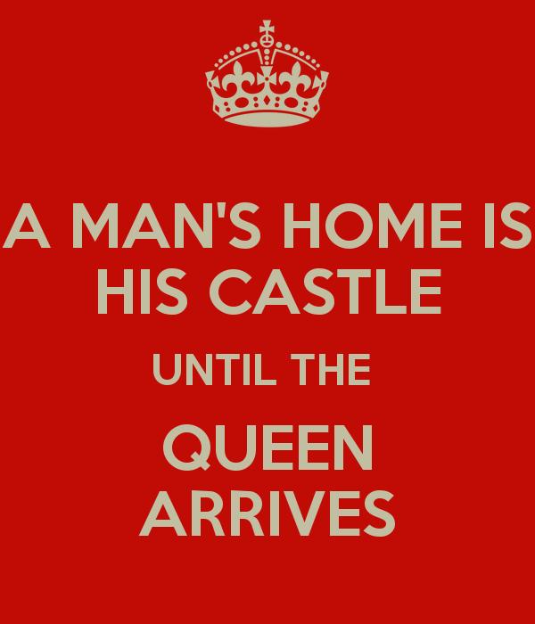 A mans house is his castle essay