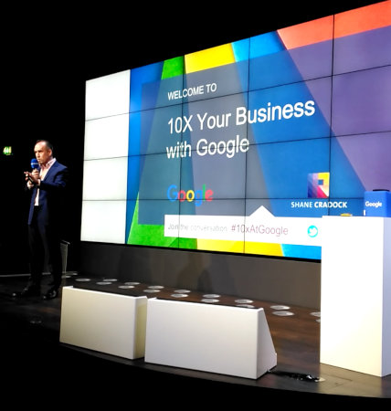 Shane talking at Google