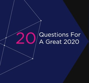Ebook cover - 20 Questions For A Great 2020